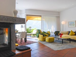 Ferienwohnung Condominio Les Hirondelles in Orselina - 5 Personen, 2 Schlafzimme