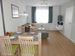 Komfort-Ferienwohnung, Balkon, ruhige, zentrale Lage, Ferienwohnungen Flora