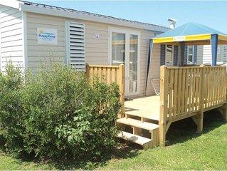 Ferienhaus - 5 Personen*, 24 m2 Wohnflache, 2 Schlafzimmer, Garten, Internetzuga