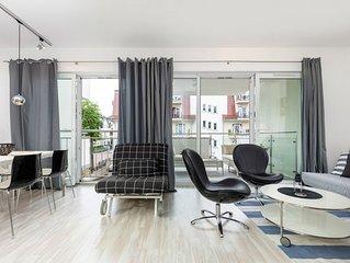 Appartment Stella Baltic 26 mit Schlafzimmer und Balkon