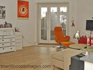 City Apartment in Frederiksberg Kommune mit 3 Schlafzimmern 4 Schlafplätzen