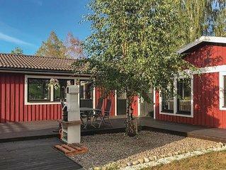4 Zimmer Unterkunft in Björkvik