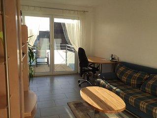 Ferienwohnung Nr. 2, 45qm, 2 Schlafzimmer, max. 3 Personen