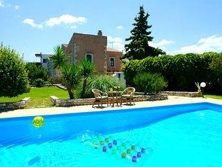 Ländliche Idylle und ruhige Umgebung - Ferienhaus mit Pool, Wifi   Prinos, Kreta