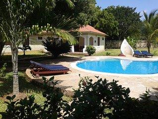 Kleine private Ferienanlage im Herzen von Diani Beach