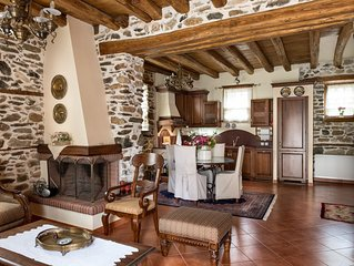 Luxury Traditional Stone House in Vrasna