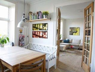 City Apartment in Frederiksberg Kommune mit 2 Schlafzimmern 4 Schlafplätzen