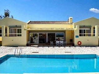 Luxus Villa nahe Kassiopi nur 100 bis zum Strand