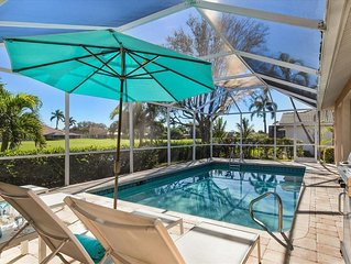 Villa Toplage in Bonita Springs, 3Mi z.Strand, 1Mi North Naples,Golf,Pool,Water