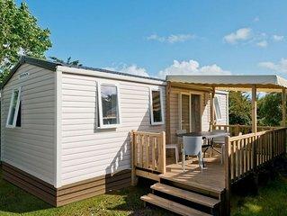 Ferienhaus - 6 Personen*, 32 m2 Wohnflache, 3 Schlafzimmer, Internet/WIFI