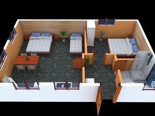 Ferienwohnung ADA in Liptovský Trnovec - 4 Personen, 2 Schlafzimmer