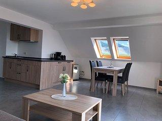 Ferienwohnung, 1 Schlafraum und Balkon mit Aussicht für max. 4 Personen