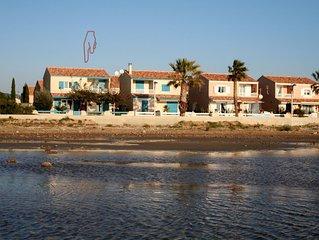 ,Freistehendes  Ferienhaus direkt a. Sandstrand,Garten, WLAN,Garage,
