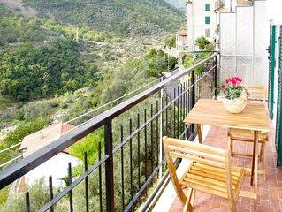Apartment I due Cognati  in Montalto Ligure, Liguria: Riviera Ponente - 4 perso