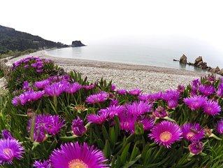 Beach House Potami direkt am Strand