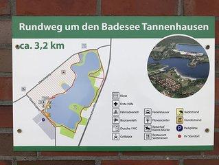 Ferienhaus Dromhuus am Badesee Tannenhausen