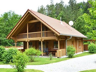 Uriges Blockhaus am Lechfall