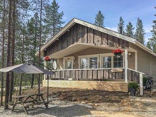Ferienhaus Haukka in Inari - 5 Personen, 2 Schlafzimmer