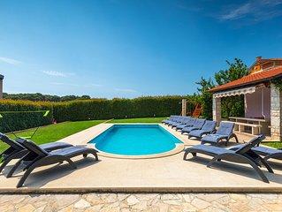 Pool, 3 km vom Meer entfernt, Grill, WiFi, Billard, kostenloses WLAN