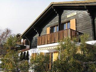 Ferienhaus Crans-sur-Sierre für 4 - 8 Personen mit 3 Schlafzimmern - Ferienhaus