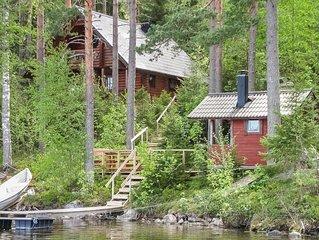 Ferienhaus Iltarusko in Punkaharju - 5 Personen, 2 Schlafzimmer