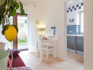 'Meeresleuchten' Wohnung auf Sylt für 2 Personen mit Garten in der Innenstadt