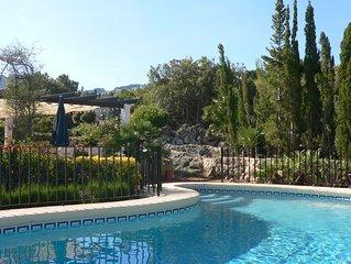 Villa Encantador - Nahe Denia, Ruhe,Traumaussicht, Privatpool, Haustiere erlaubt