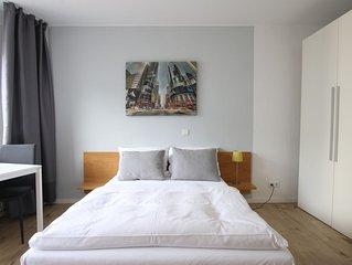 Modern möbliertes Apartment Nähe Barbarossaplatz
