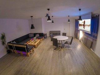 Grosses modernes Loft Innenstadt City Wurzburg 70qm