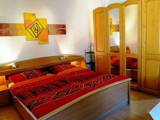 90 qm Ferien- u. Messebungalow, 4 Zimmer, 6 Pers., Wohnküche und Garten
