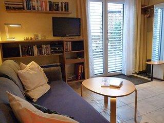 Ferienwohnung mit 40qm, 1 Schlafzimmer, 1 Wohn-/Schlafraum, für maximal 2 Person