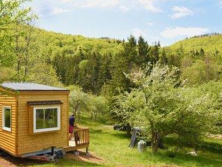 Tiny House mit Wasserfall und Privatstrand 7km von Inverness, Cape Breton Island