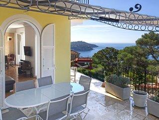 Provenzialische Villa mit spektakularem Meerblick, Provence pur