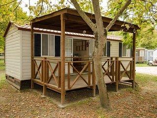 Ferienhaus - 6 Personen*, 24m² Wohnfläche, 2 Schlafzimmer, Internet/WIFI