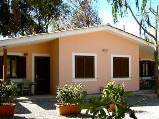 Ferienhaus - 5 Personen*, 32 m2 Wohnflache, 2 Schlafzimmer, Internet/WIFI