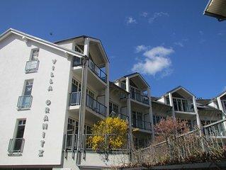 Villa Granitz Ferienwohnung mit Balkon zentral und strandnah