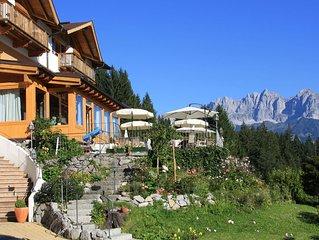 Das Paradies bei Kitzbühel - Apartment 'Tirol' im Gartenhotel Rosenhof