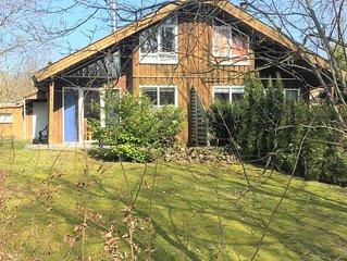 Ferienhaus im Extertal (70m²) mit Terrasse und Garten für 5 Personen und Hund