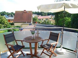 Ferienwohnung, 2 Etagen, Balkon, Neubau 2012, Parkpl., 10 min Fußweg zum Strand