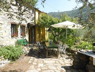 Ein freistehendes Kunstlerhaus mitten im Olivenhain,