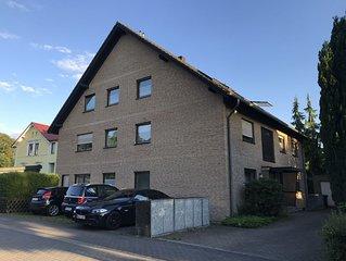 Ruhige, zentrale Wohnung (70qm) mit Terrase