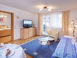 Ferienwohnung, 60qm, 1 Schlafzimmer, max. 4 Personen