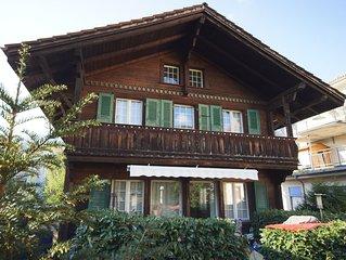 Ein Bijou im Zentrum von Interlaken in absolut ruhiger Lage