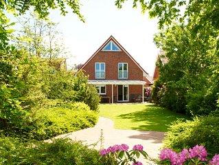 Ferienhaus  Andi  auf Borkum mit ca. 120 m² Wohnfläche u. Garten