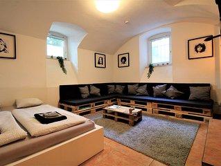attraktive Souterrain-Wohnung 30m2 - Innenstadt & Bahnhof <3min