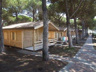 Ferienhaus - 5 Personen*, 35m² Wohnfläche, 2 Schlafzimmer, Internet/WIFI
