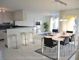 Erstklassiges Appartement nahe dem Golfplatz und dem Hafen von Ascona