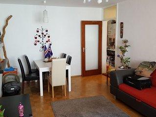 nette 3-Zimmer-Wohnung, Schwanthalerhöhe, für 4 Wochen im August 2019