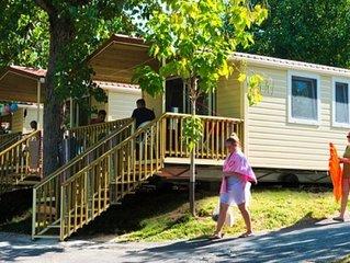 Ferienhaus - 5 Personen*, 24 m2 Wohnflache, 2 Schlafzimmer, Internetzugang/WIFI/