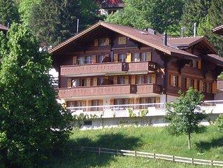 Luxuriose 3 1/2 Zi. Dachwohnung mit Galerie 100 m2 mit Blick auf Eigernordwand